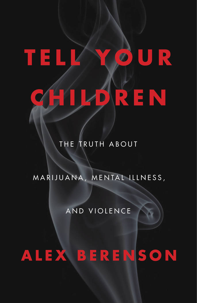 "Alex Berenson's book ""Tell Your Children"" has stirred controversy. (Courtesy)"