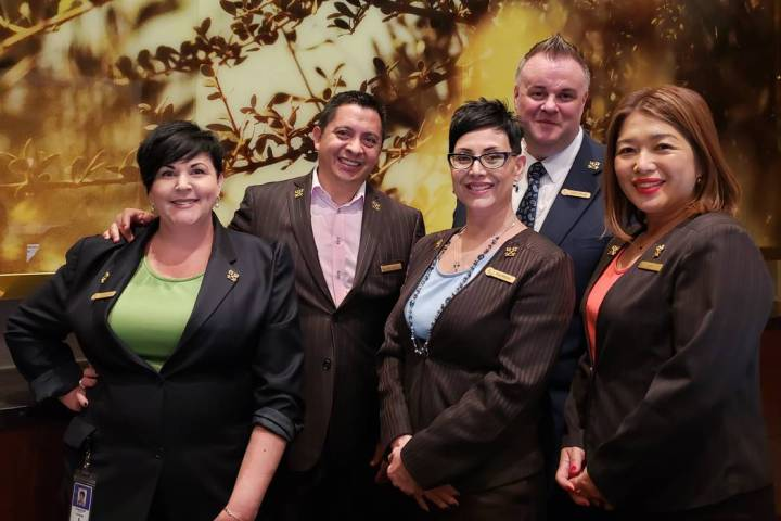 These members of the Four Seasons concierge team also are members of Les Clefs d'Or, or the k ...