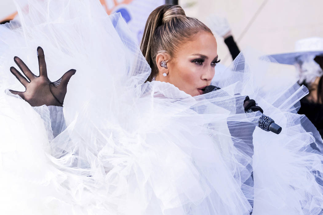 """Jennifer Lopez performs on NBC's """"Today"""" show at Rockefeller Plaza on Monday, May 6, ..."""