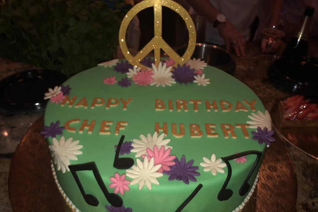 Hubert Keller, the celebrity chef behind Fleur by Hubert Keller and Burger Bar in Mandalay Bay ...