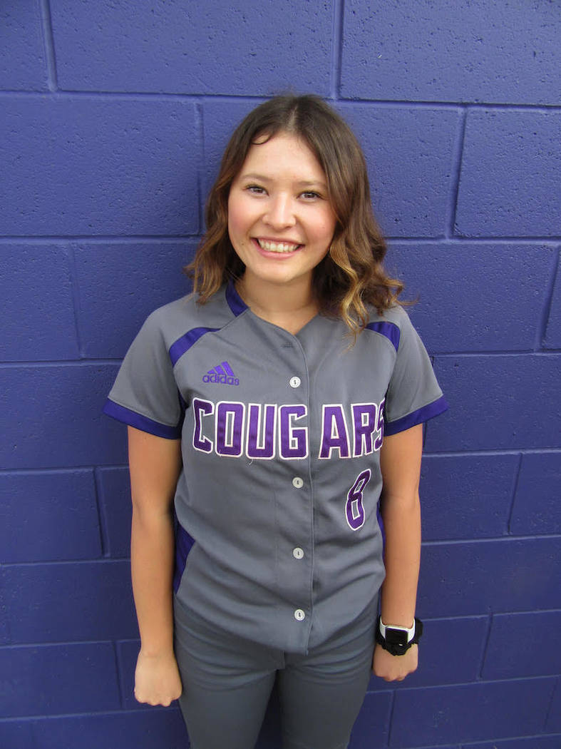 Spanish Springs' Alysa Micone is a member of the Nevada Preps all-state softball team.