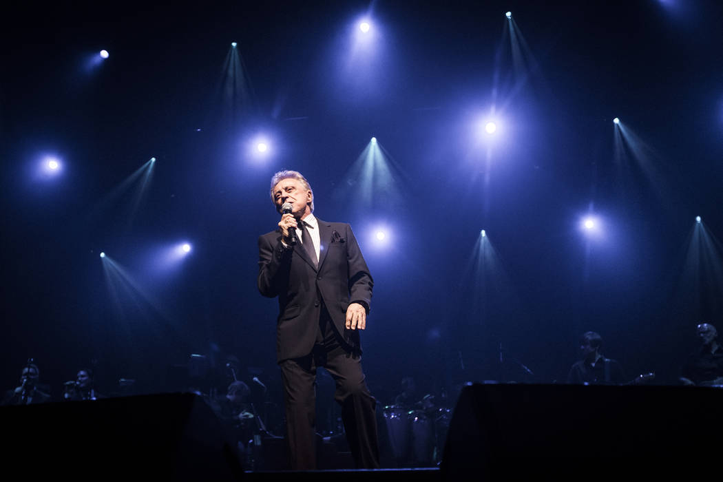 10/19/2012 - New York, New York. Rock and Roll Hall of Fame inducted pop singer Frankie Valli p ...