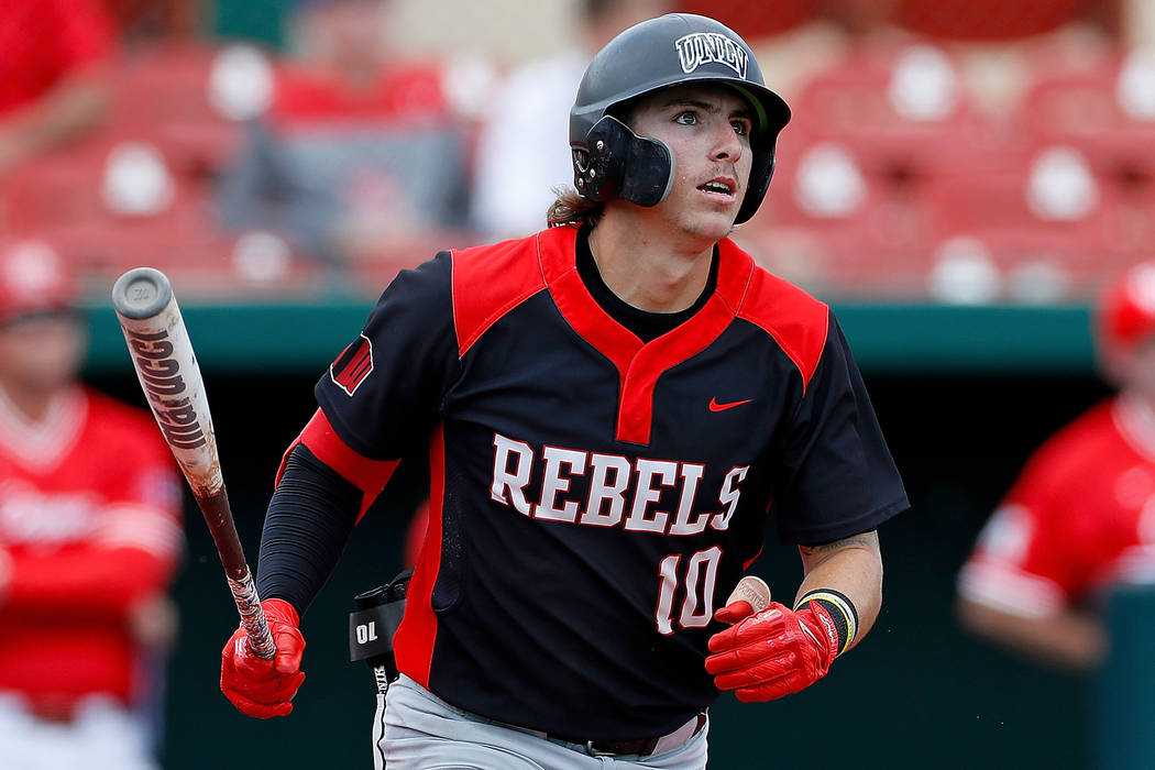 UNLV's Bryson Stott projected as first-round pick in MLB