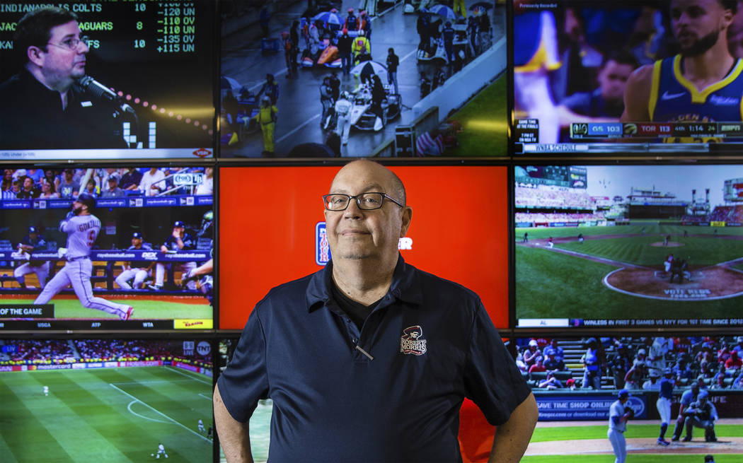 """South Point sports book director Chris Andrews will soon release a book titled """"Then One D ..."""