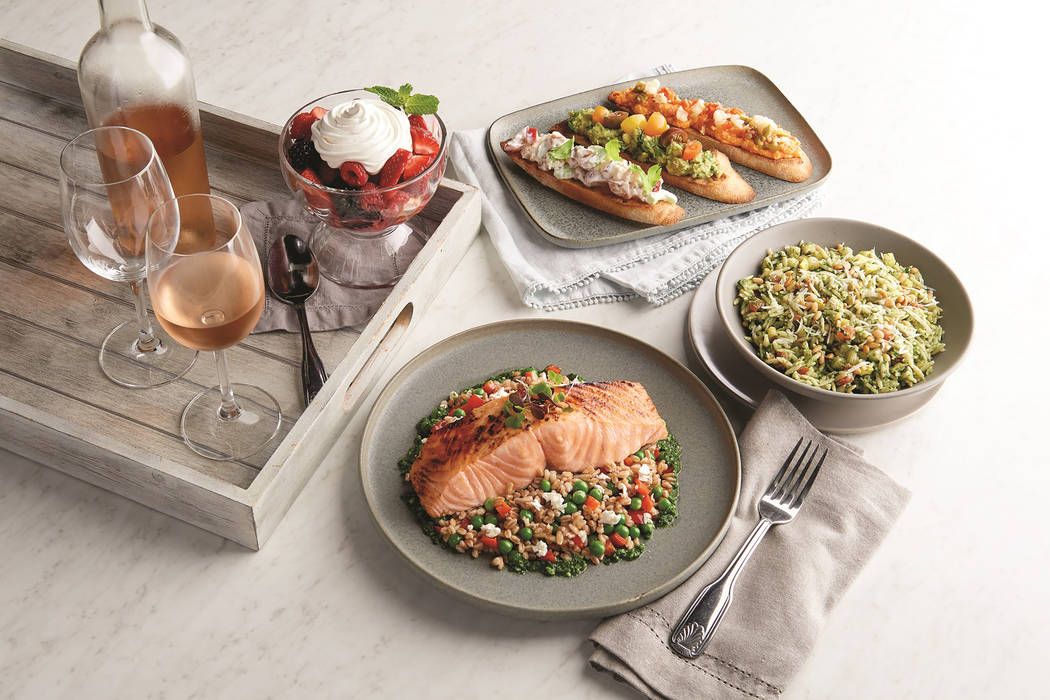 Summer menu at Morton's the Steakhouse (Ralph Smith)
