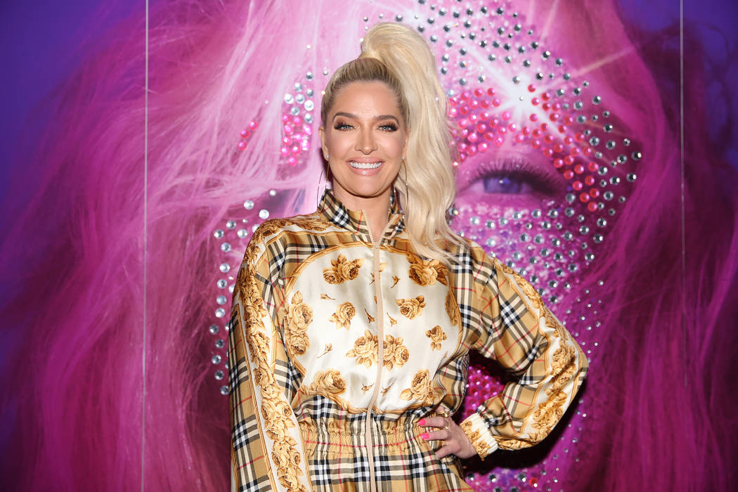 Erika Jayne on the red carpet for the grand opening of Christina Aguilera at Planet Hollywood h ...