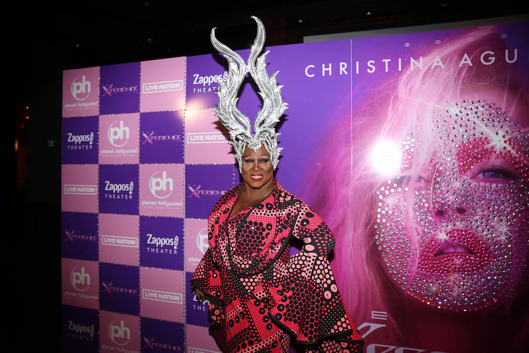 Larry Edwards during the red carpet for the grand opening of Christina Aguilera at Planet Holly ...