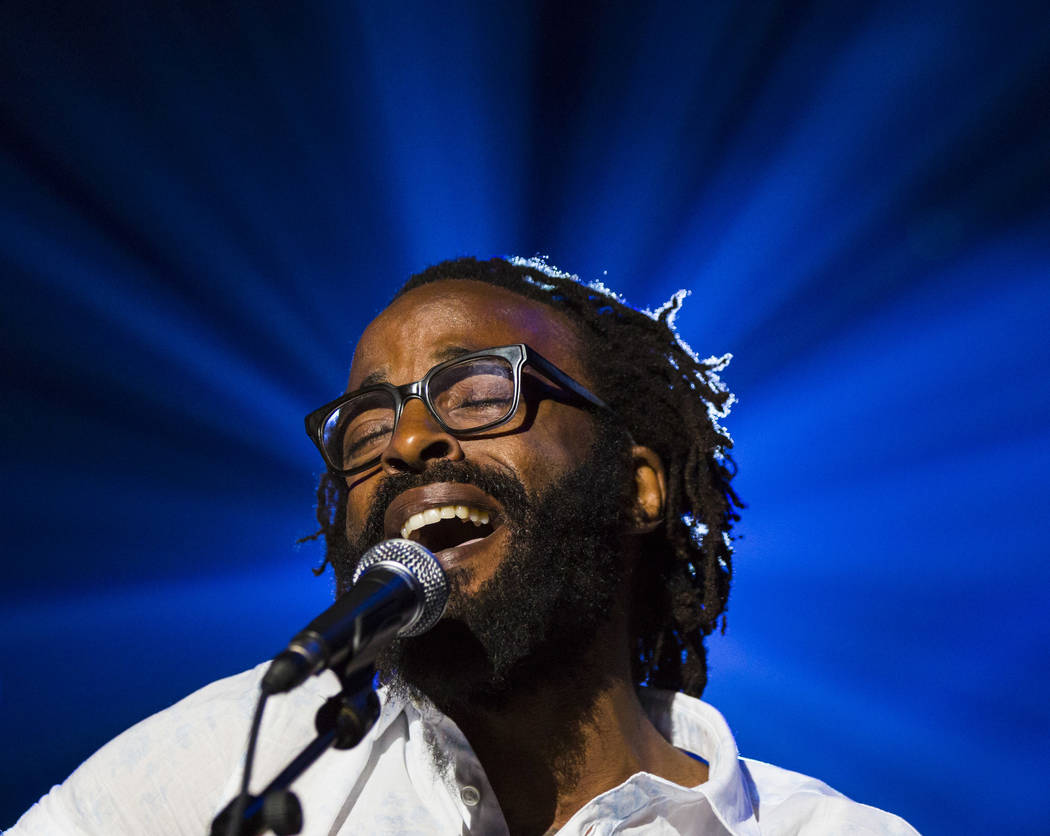 John Forte performs inside The Joint during the first day of the Emerge Impact + Music conferen ...