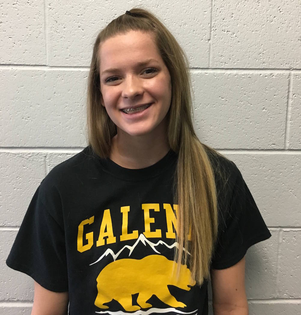Galena's Summer Murphy is a member of the Nevada Preps all-state girls swimming team.