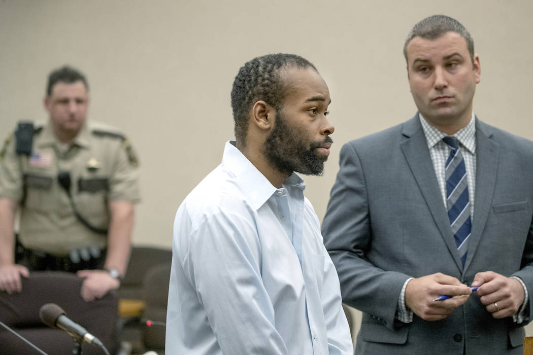 Emmanuel Aranda, who threw a 5-year-old boy over a Mall of America balcony, and his lawyer Paul ...