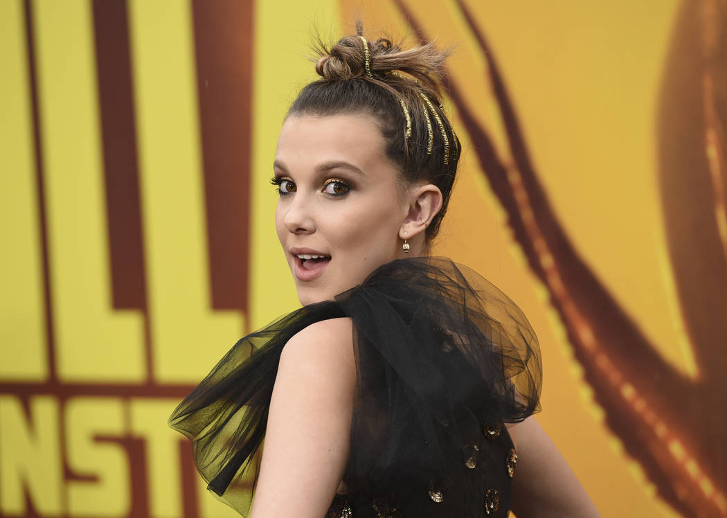 """Millie Bobby Brown arrives at the Los Angeles premiere of """"Godzilla: King of The Monsters& ..."""