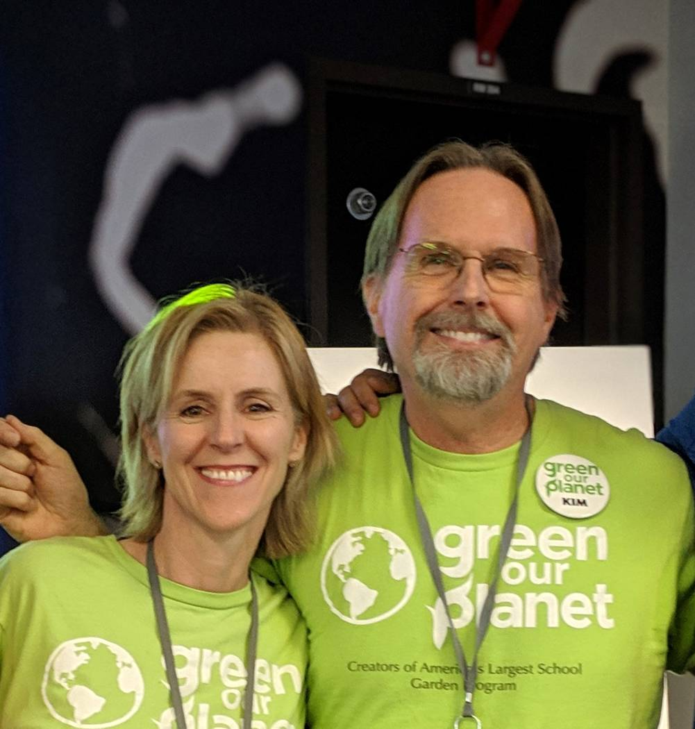Ciara Byrne and Kim MacQuarrie, founders of Green Our Planet. Green Our Planet