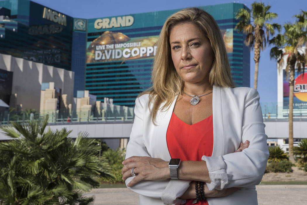 Mali Catello, the former director of learning delivery with MGM Resorts International, was laid ...
