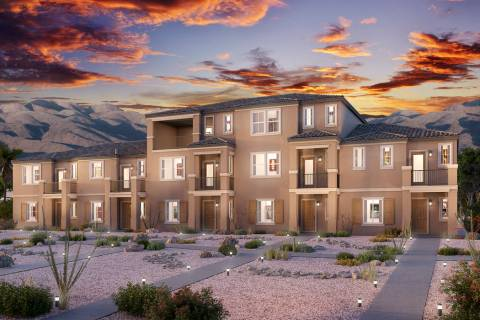 Union Trails, a Henderson town home community, is under development by Beazer Homes. (Beazer Homes)