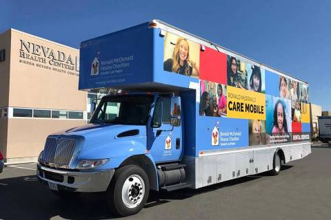 Nevada Health Centers' Ronald McDonald Care Mobile