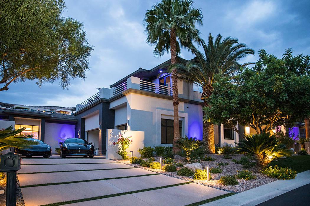 The two-story house has plenty of garage space. (Tonya Harvey Real Estate Millions)