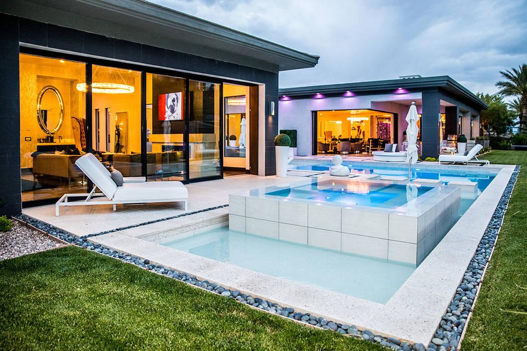 Designer Angeles Scorsetti and husband, Steve Mason, spent eight months remodeling this 10,000- ...