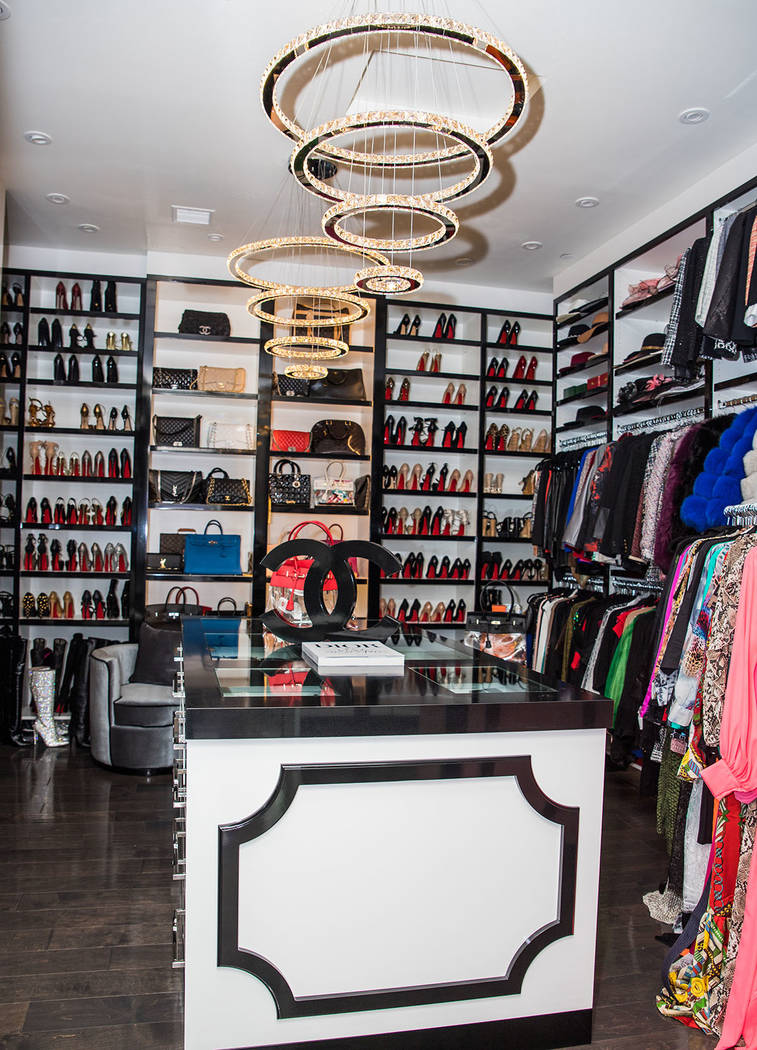 The crown jewel of the home, her closet. (Tonya Harvey Real Estate Millions)