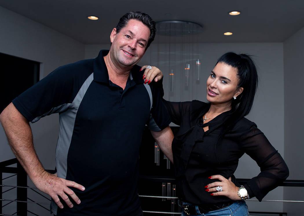 Angeles Scorsetti and husband, Steve Mason. (Tonya Harvey Real Estate Millions)