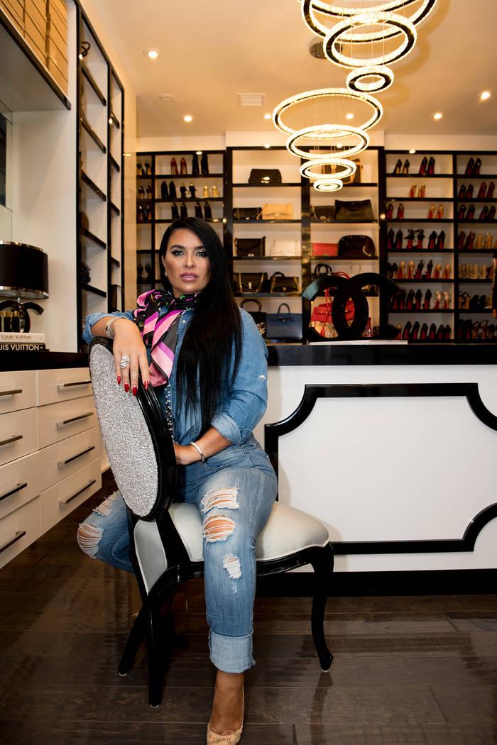 Tonya Harvey Real Estate Millions Designer Angeles Scorsetti created her dream closet in her M ...