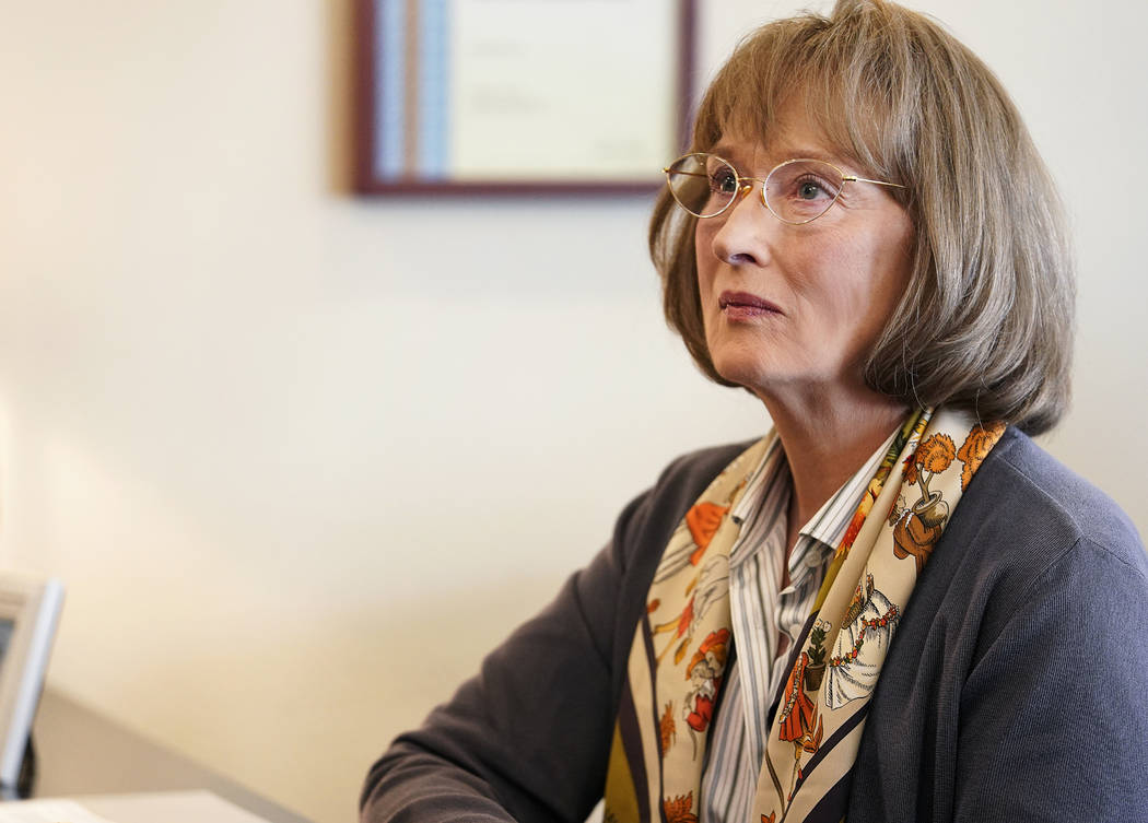 """Big Little Lies"" Season 2 Meryl Streep. photo: Jennifer Clasen/HBO"