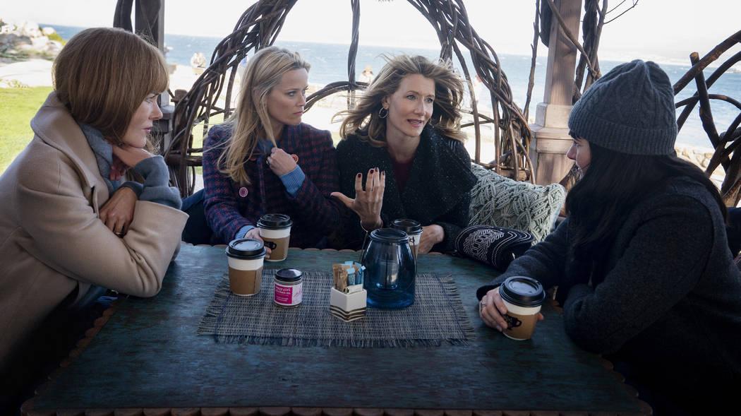 """Big Little Lies"" Season 2: Nicole Kidman, Reese Witherspoon, Laura Dern, Shailene Woodley. pho ..."