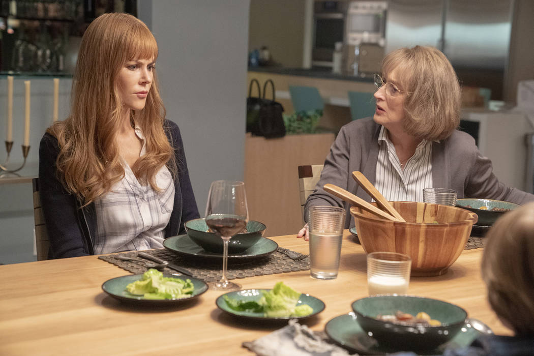 """Big Little Lies"" Season 2; Nicole Kidman, Meryl Streep. photo: Jennifer Clasen/HBO"