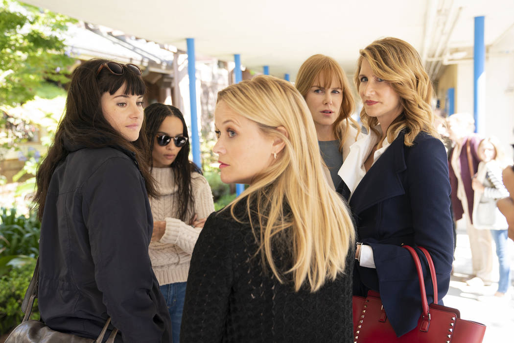 "Season 2 of ""Big Little Lies"": Shailene Woodley, Zoe Kravitz, Reese Witherspoon, Nico ..."