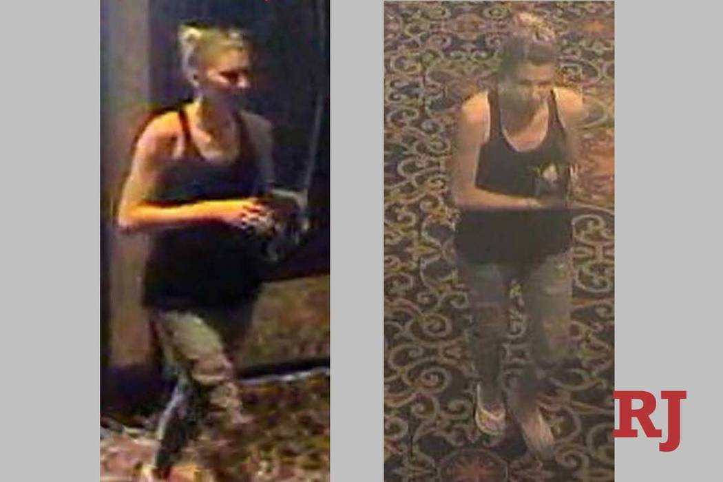 North Las Vegas police are looking for a suspect in a robberythatoccurredMay1, 2019,i ...