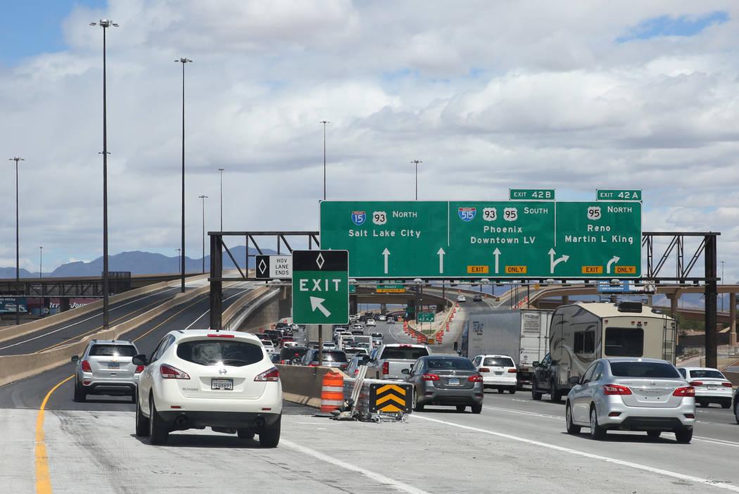 What Is Hov Lane >> Hov Lane Enforcement Takes Effect On June 20 Las Vegas Review Journal