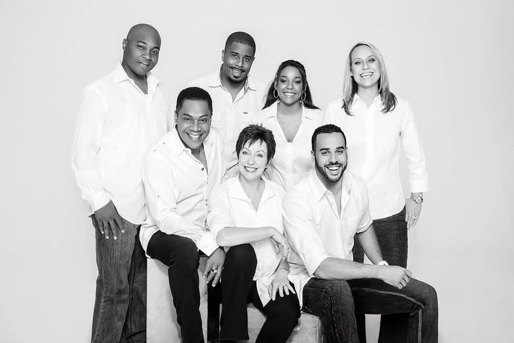 Earl Turner and his family, from left, Derrick, Earl, Marcus, Christine, Christina, Aaron, Kath ...