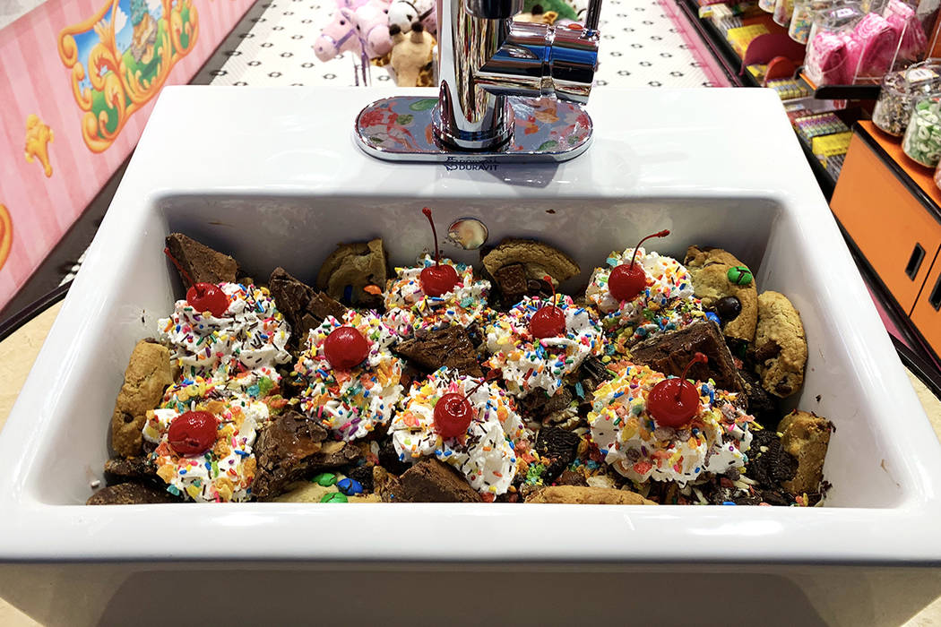 Have you ever wanted to eat an ice cream sundae out of a kitchen sink? Who hasn't, right? At Sl ...