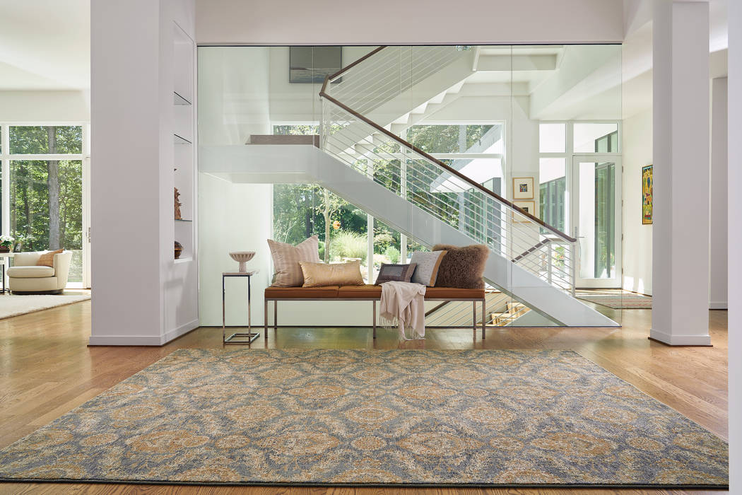 The Austin collection from Capel Rugs translates traditional Ushak and Kirman designs. These ne ...