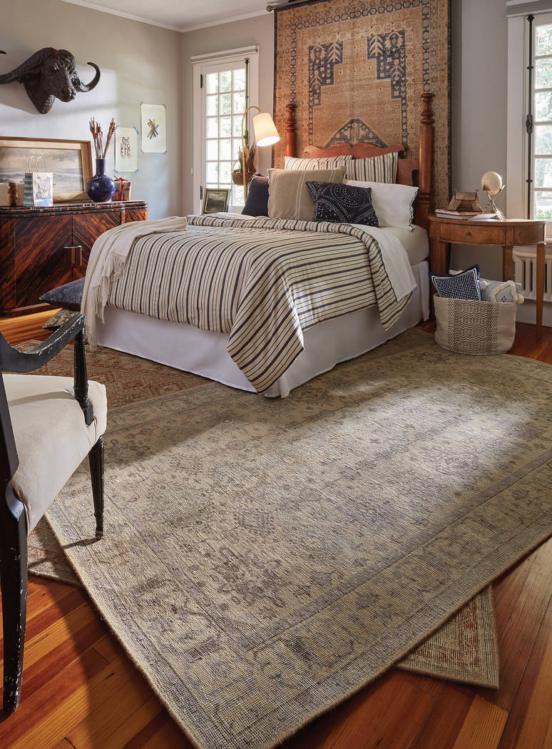 A treasure trove of antique rugs uncovered in a Turkish bazaar awakened the design senses to th ...