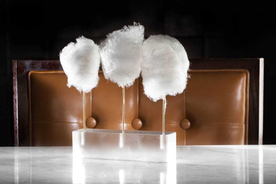 Cotton Candy Foie Gras at Bazaar Meat at SLS Las Vegas (Bazaar Meat)