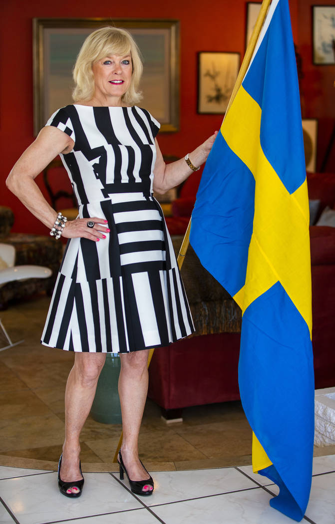 Lena Walther is the honorary Swedish consul in Southern Nevada and also founded Awareness is Pr ...