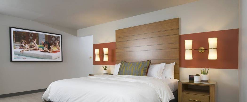 A new Luxe king room at the Plaza. (Courtesy Plaza)
