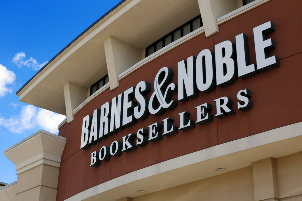 with sales in prolonged fall, barnes \u0026 noble sold to hedge fund31, 2017 file photo, shows a barnes and noble booksellers store