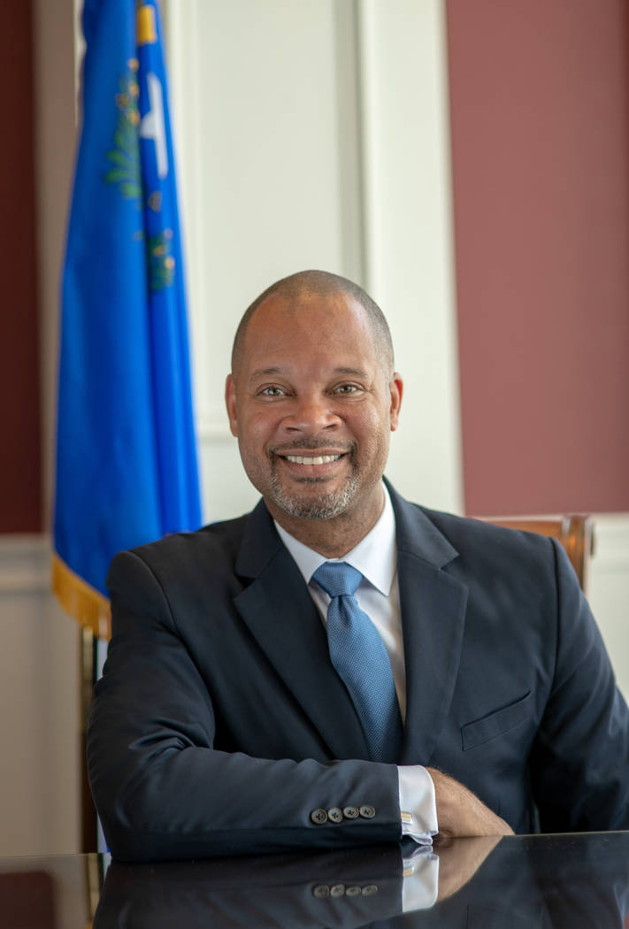 Nevada Attorney General Aaron Ford. (Courtesy)