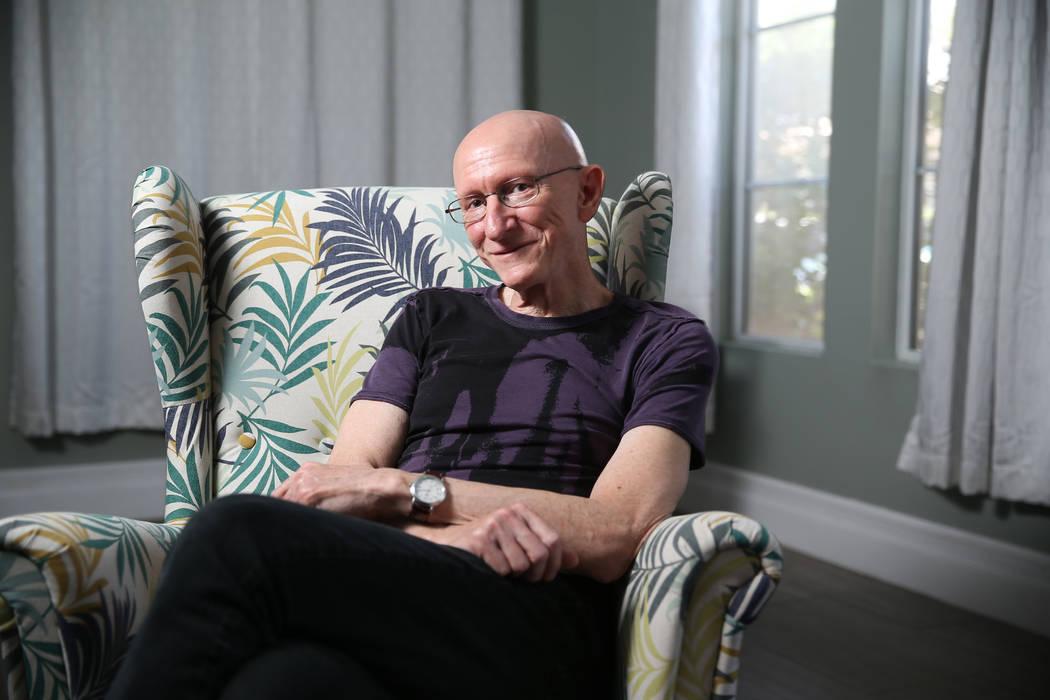 Filmmaker Jeff Lipsky at his home in Las Vegas, Wednesday, June 5, 2019. (Erik Verduzco / Las V ...