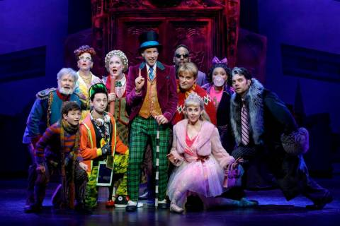 "Roald Dahl's ""Charlie and the Chocolate Factory"" is at The Smith Center Tuesday through June ..."