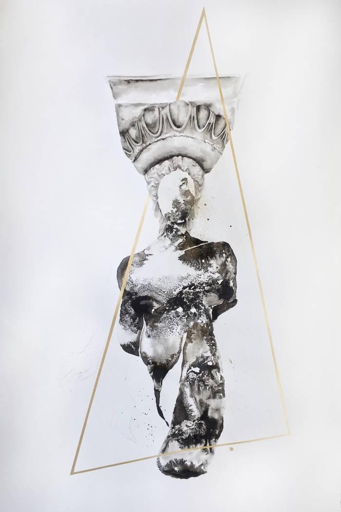 "Sapira Cheuk's ""New Vessels, Unmade Structures"" exhibit."