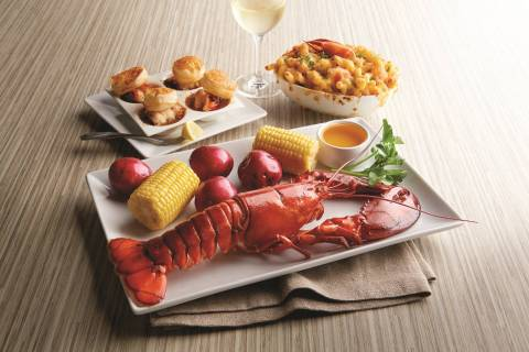 "Morton's ""lobster-centric"" menu is being offered Friday through Sunday. (Ralph Smith)"