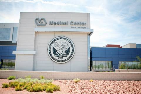 The Veterans Affairs Medical Center, located at 6900 N. Pecos Road in North Las Vegas. (Las Veg ...
