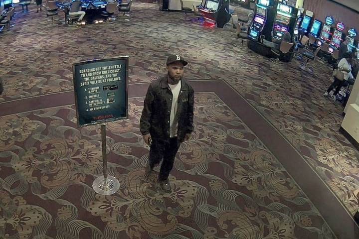 Robbery suspect inside The Orleans (Las Vegas Metropolitan Police Department)