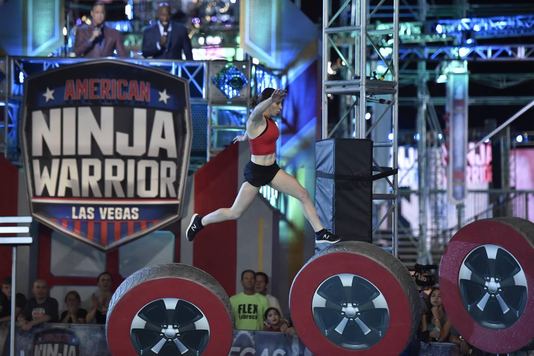 """American Ninja Warrior"" finals in Las Vegas (Photo By: David Becker/NBC)"