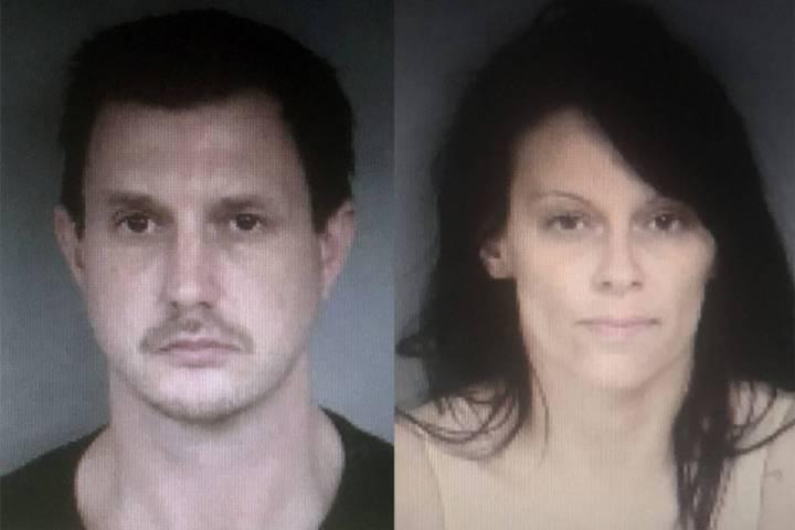 Christian Burns and Amanda Macri (North Las Vegas Police Department)
