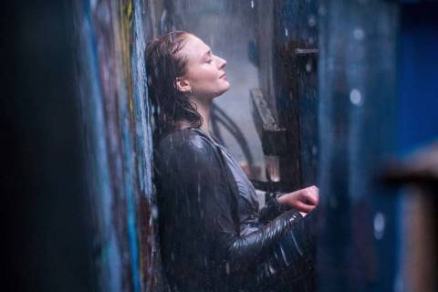 "This image released by Twentieth Century Fox shows Sophie Turner in a scene from ""Dark Phoenix. ..."
