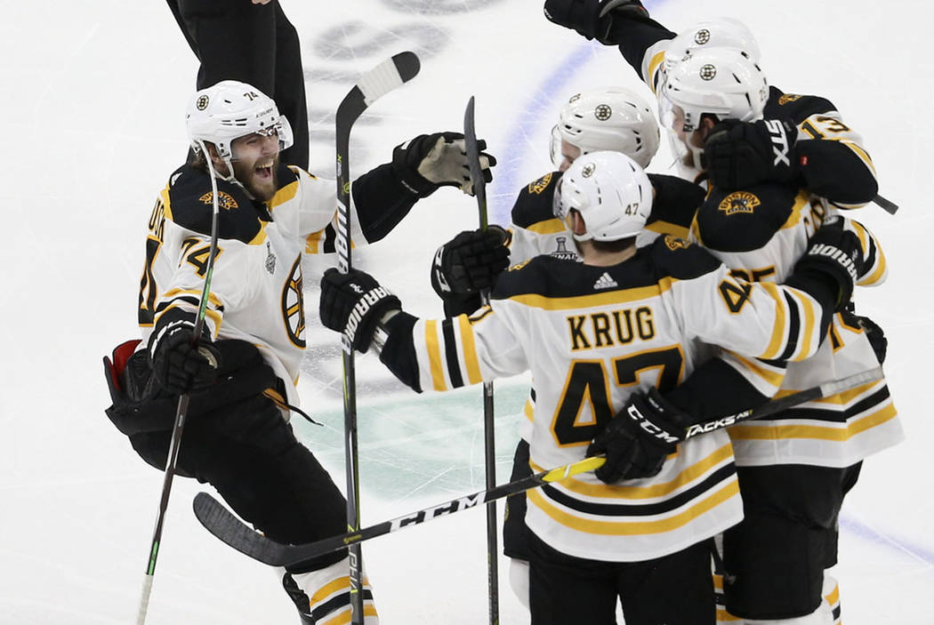 Bruins Beat Blues Force Game 7 In Stanley Cup Las Vegas Review