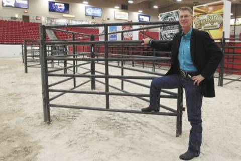 Steve Stallworth is the South Point Arena general manager. (Jerry Henkel/Las Vegas Review-Journal)
